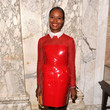 Shala Monroque in Valentino at the 2013 amfAR Inspiration Gala New York