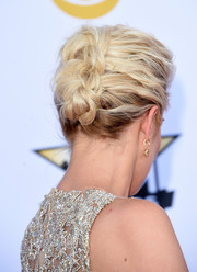 Kellie Pickler pulled her hair up into an elegant braid for the Academy of Country Music Awards.