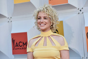 Cam attended the Academy of Country Music Awards sporting her Annie-inspired curls.