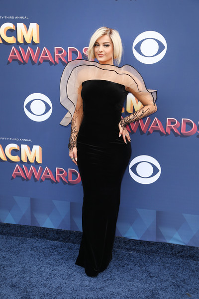 Bebe Rexha In Yanina Couture in 2018