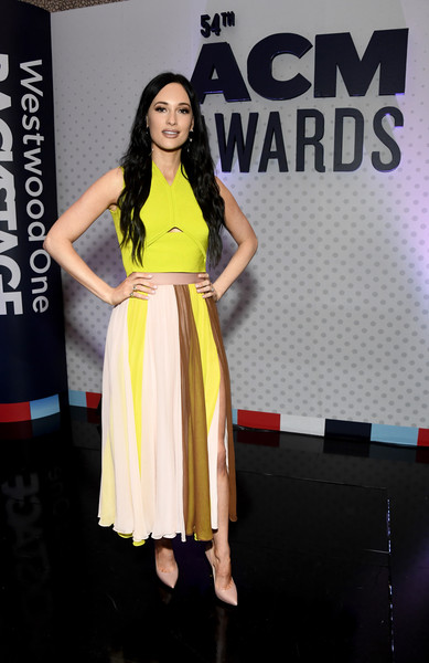 More Pics of Kacey Musgraves Diamond Ring (4 of 5) - Kacey Musgraves Lookbook - StyleBistro [clothing,yellow,dress,fashion,fashion model,fashion design,event,premiere,leg,cocktail dress,westwood one radio remotes,kacey musgraves,nevada,las vegas,academy of country music awards,cumulus]