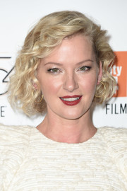 Gretchen Mol looked adorable with her curled-out bob at the New York Film Festival premiere of 'Manchester by the Sea.'