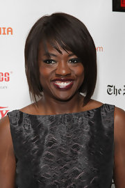 Viola Davis showed off her perfectly manicured bob while attending the Drama Desk Awards.