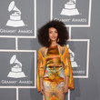 Esperanza Spalding at the Grammy Awards 2013
