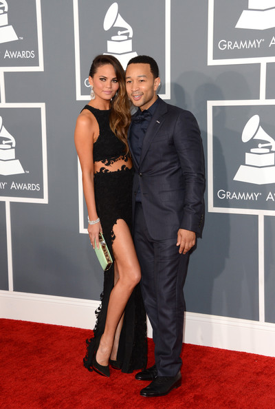 More Pics of Chrissy Teigen Hard Case Clutch (1 of 8) - Chrissy Teigen Lookbook - StyleBistro