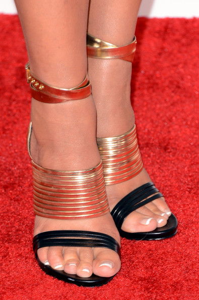 More Pics of Nancy O'Dell Strappy Sandals (5 of 8) - Nancy O'Dell Lookbook - StyleBistro