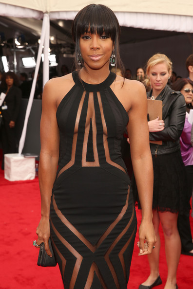 More Pics of Kelly Rowland Cutout Dress (1 of 5) - Cutout Dress Lookbook - StyleBistro