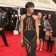 Kelly Rowland Wore Georges Chakra Couture at the Grammy Awards 2013