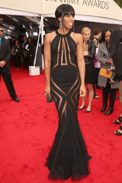 More Pics of Kelly Rowland Cutout Dress (4 of 5) - Kelly Rowland Lookbook - StyleBistro