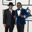 Ed D. Kane and Anthony Hamilton at the 2014 Grammy Awards
