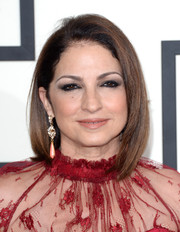Gloria Estefan kept it classic with this mid-length bob when she attended the Grammys.