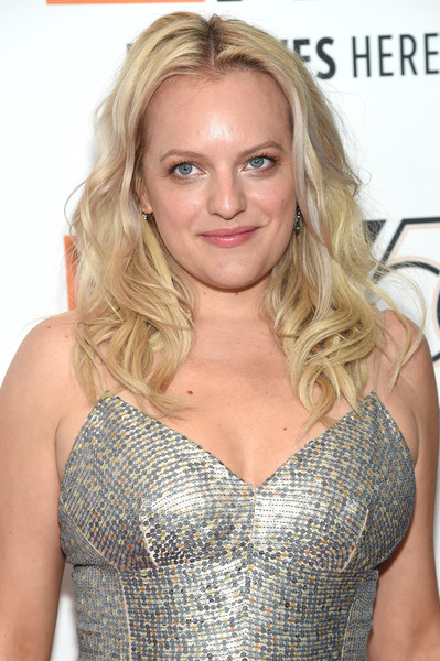 Elisabeth Moss looked like a doll with her golden waves at the New York Film Festival premiere of 'Her Smell.'