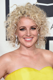 Cam attended the Grammys wearing her hair in a mass of curls.