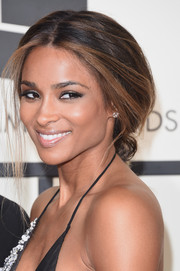 Ciara was sexily coiffed with this loose, low ponytail at the Grammys.