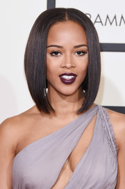 Serayah McNeill attended the Grammys wearing the most perfect graduated bob!