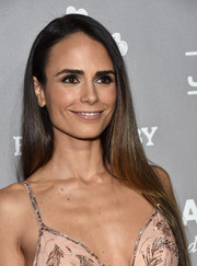 Jordana Brewster attended the Baby2Baby Gala wearing sleek straight tresses.