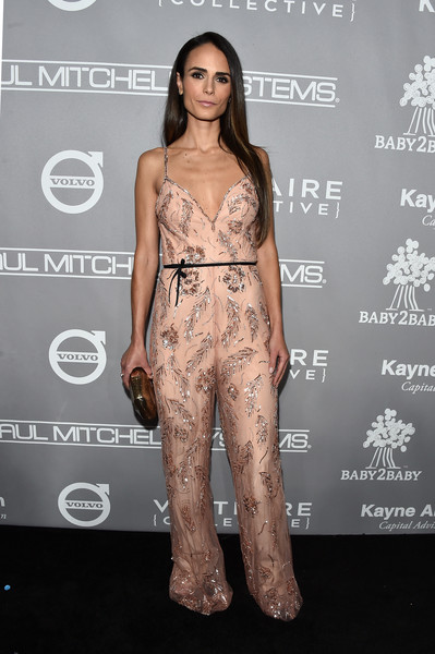 Jordana Brewster in Monique Lhuillier