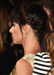 Constance Zimmer went for a romantic look with this crown braid at the Critics' Choice Television Awards.