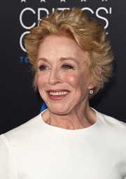 Holland Taylor sported a tousled hairstyle at the 2015 Critics' Choice Television Awards.