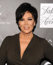Kris Jenner kept it youthful and edgy with this layered razor cut at the PSLA Autumn Party.