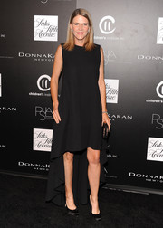 Colleen Bell chose a dramatic fishtail LBD for the PSLA Autumn Party.