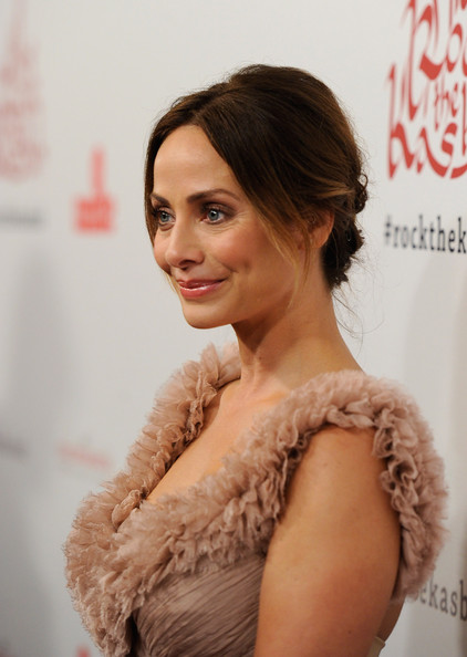 Natalie Imbruglia wore her hair in a sweet, super feminine updo for the 5th Annual Virgin United Rock the Kasbah Gala.