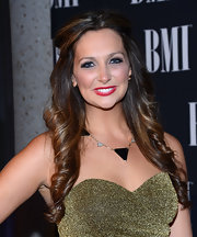 Ashley wore her spiral curls in a half-up 'do for the BMI Awards.
