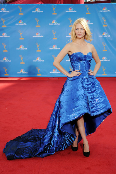 January Jones in Atelier Versace, 2010