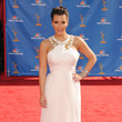 Kim Kardashian 2010 Emmy Awards