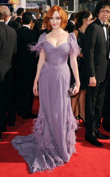 Christina Hendricks 2010 Emmy Awards
