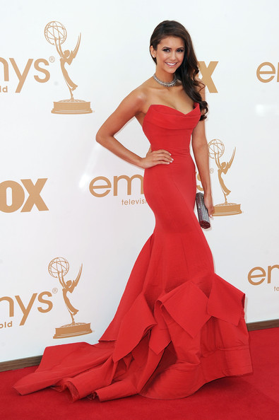 Nina Dobrev 2011 Emmy Awards