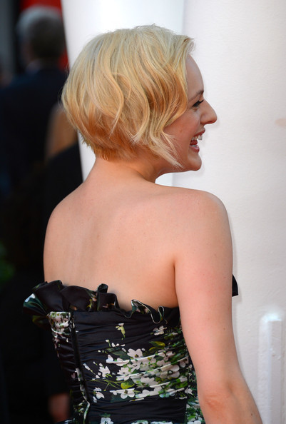 More Pics of Elisabeth Moss Fishtail Dress (1 of 12) - Elisabeth Moss Lookbook - StyleBistro
