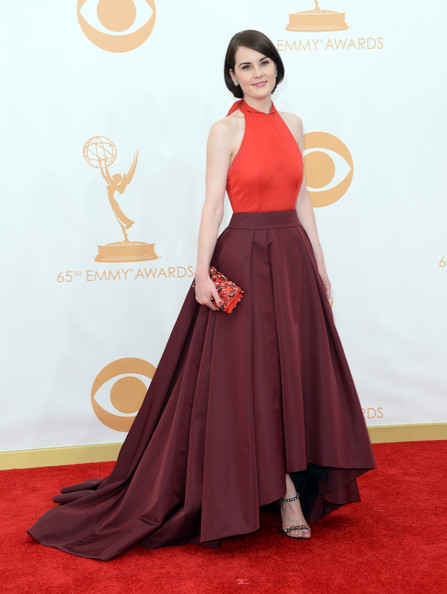 Michelle Dockery in Prada, 2013