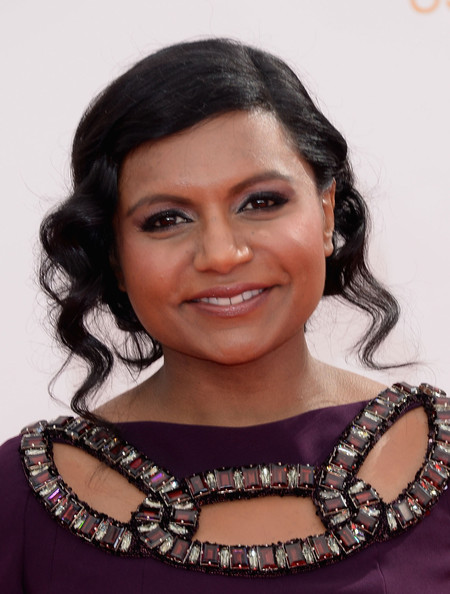 More Pics of Mindy Kaling Evening Dress (1 of 19) - Mindy Kaling Lookbook - StyleBistro [hair,eyebrow,hairstyle,beauty,black hair,lip,jewellery,fashion accessory,smile,long hair,arrivals,mindy kaling,california,los angeles,nokia theatre l.a. live,primetime emmy awards]