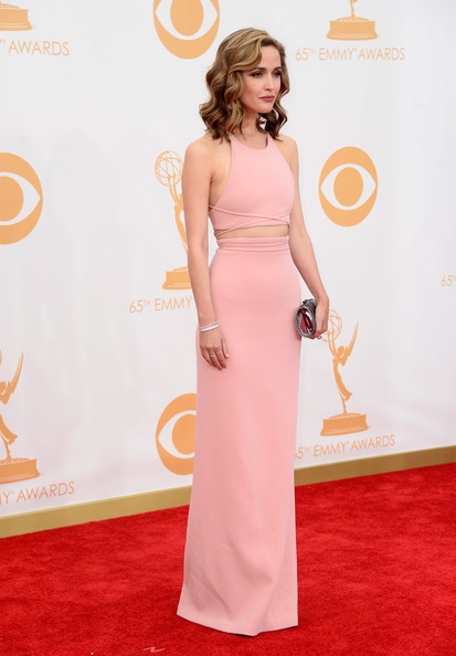 Rose Byrne in Calvin Klein Collection, 2013