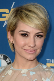 Chelsea Kane looked trendy with her short emo cut at the 2014 Directors Guild of America Awards.
