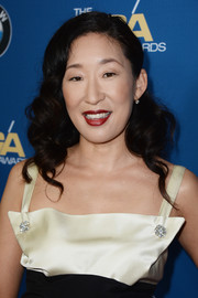 Sandra Oh looked sweet with her curly 'do at the 2014 Directors Guild Awards.