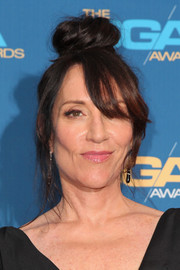 Katey Sagal could definitely pull off a messy top knot!