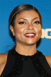 Taraji P. Henson opted for a simple side-parted ponytail when she attended the DGA Awards.