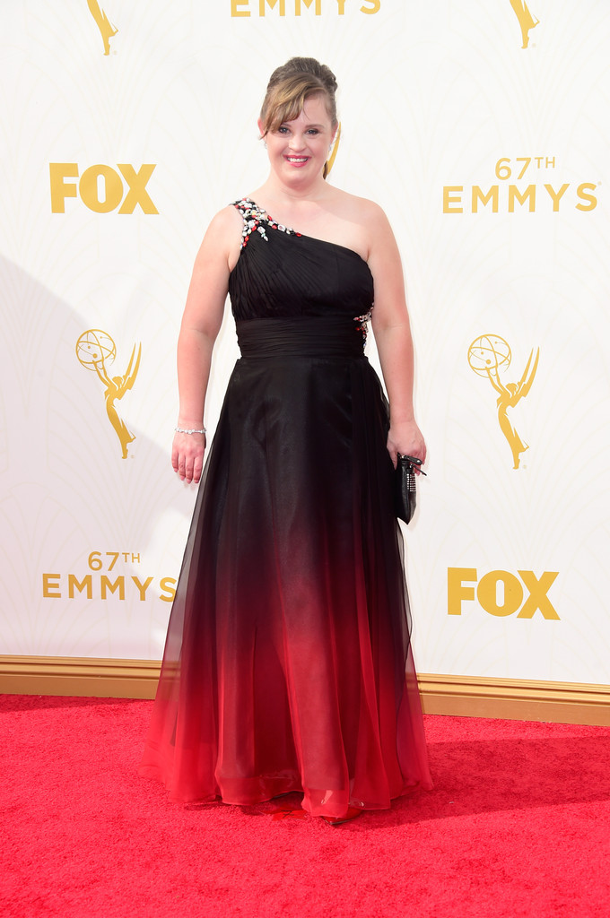 Jamie Brewer Best Dressed At The 2015 Emmy Awards