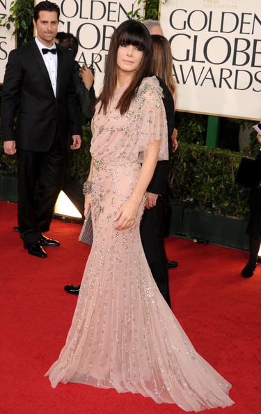 Jenny Packham at the 2011 Golden Globe Awards