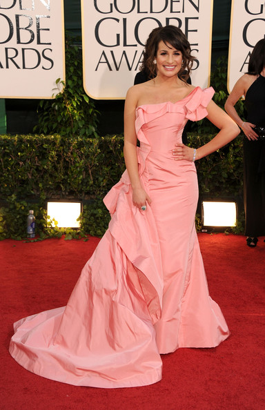 Lea Michele, 2011 Golden Globes