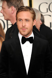 Ryan Gosling was the perfect picture of handsome at the 2011 Golden Globes. His bowtie was the best way to finish off his look.