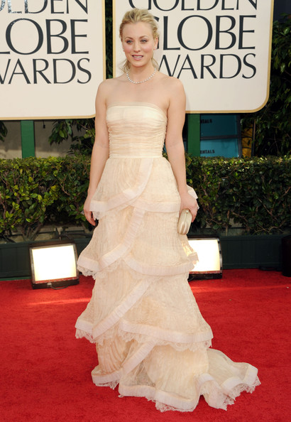 Kaley Cuoco, 2011 Golden Globes