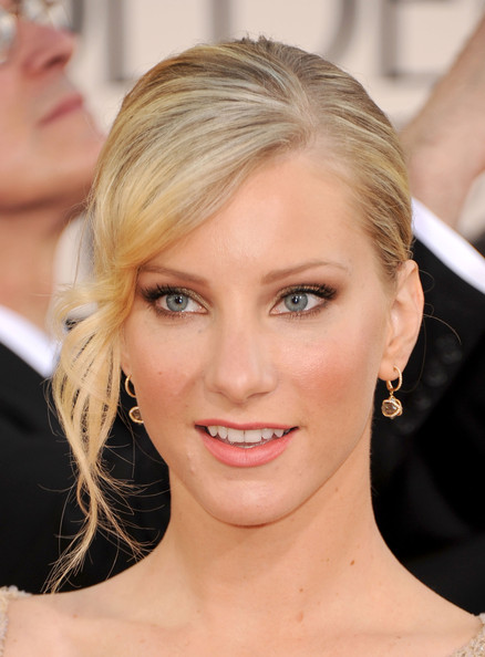 More Pics of Heather Morris Classic Bun (1 of 7) - Updos Lookbook - StyleBistro