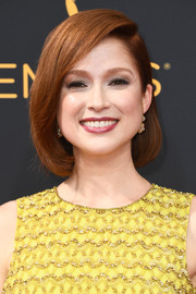 Ellie Kemper attended the Emmys wearing her hair in a perfectly neat bob.