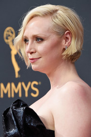 Gwendoline Christie stuck to her signature blonde bob when she attended the Emmy Awards.