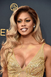 Laverne Cox wore gorgeous long waves at the Emmy Awards.