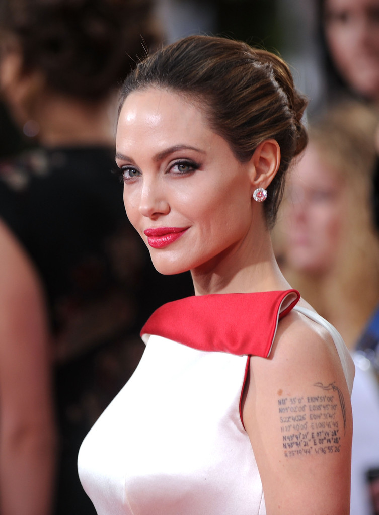 More Pics of Angelina Jolie Red Lipstick (11 of 86) - Angelina ...