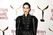 Jill Kargman Leather Dress